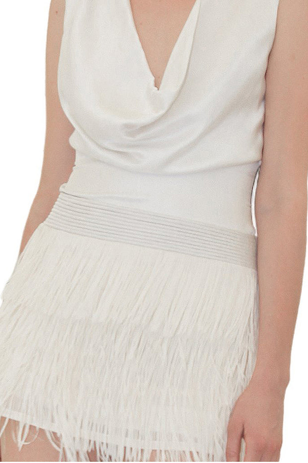 MINI FRINGES SKIRT