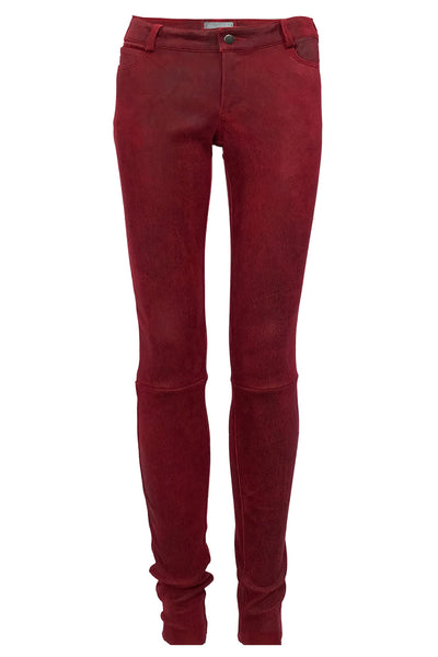 SUEDE WASHABLE  LEGGINGS