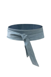 SUEDE WRAP BELT