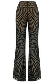 DIANA ROSS SWIRLY TROUSERS