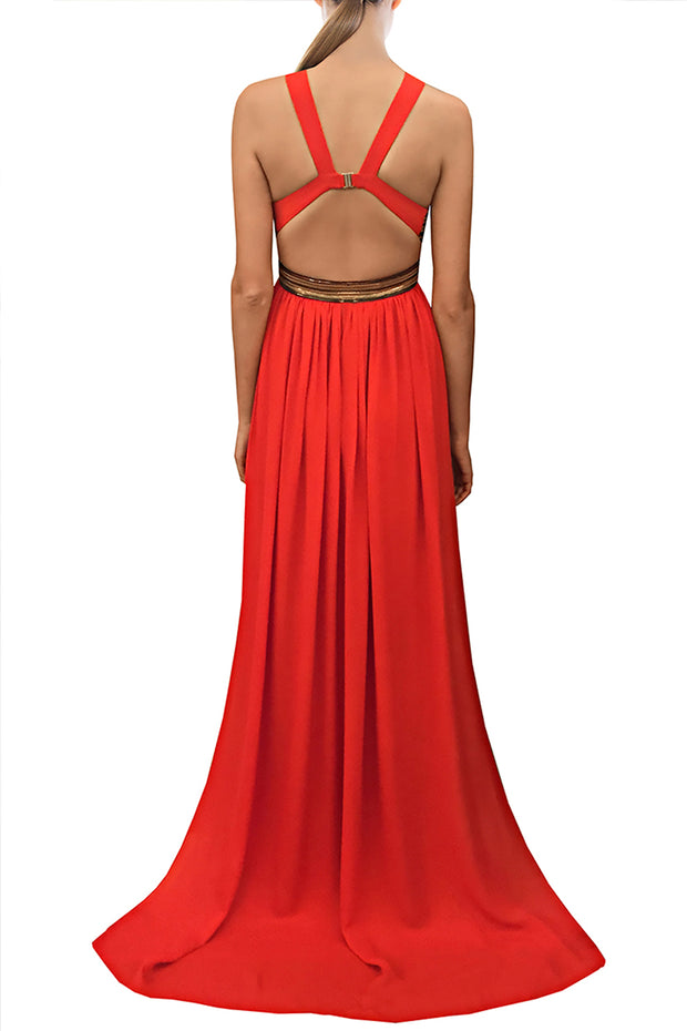 THE POMPEII GOWN