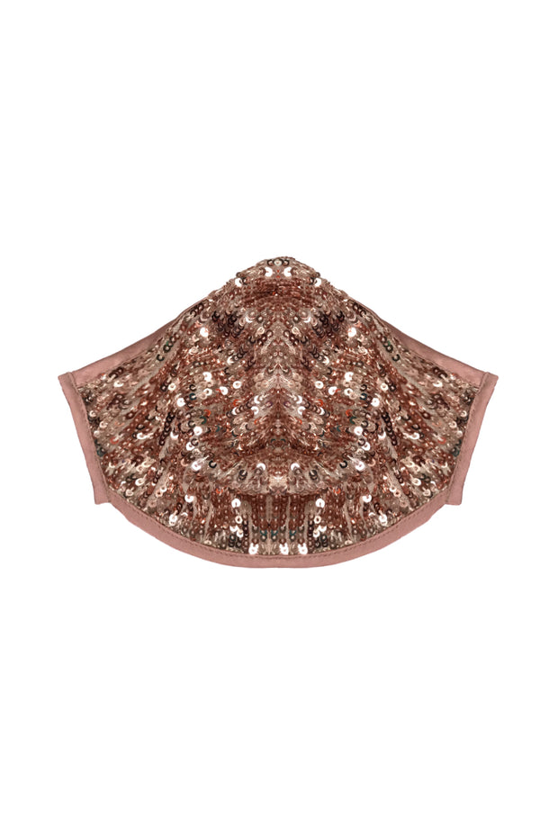 SEQUIN FASHION MASK COVER