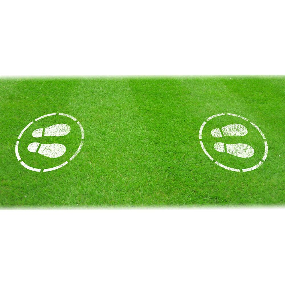 Sports 2m Stencil For Grass Design 3