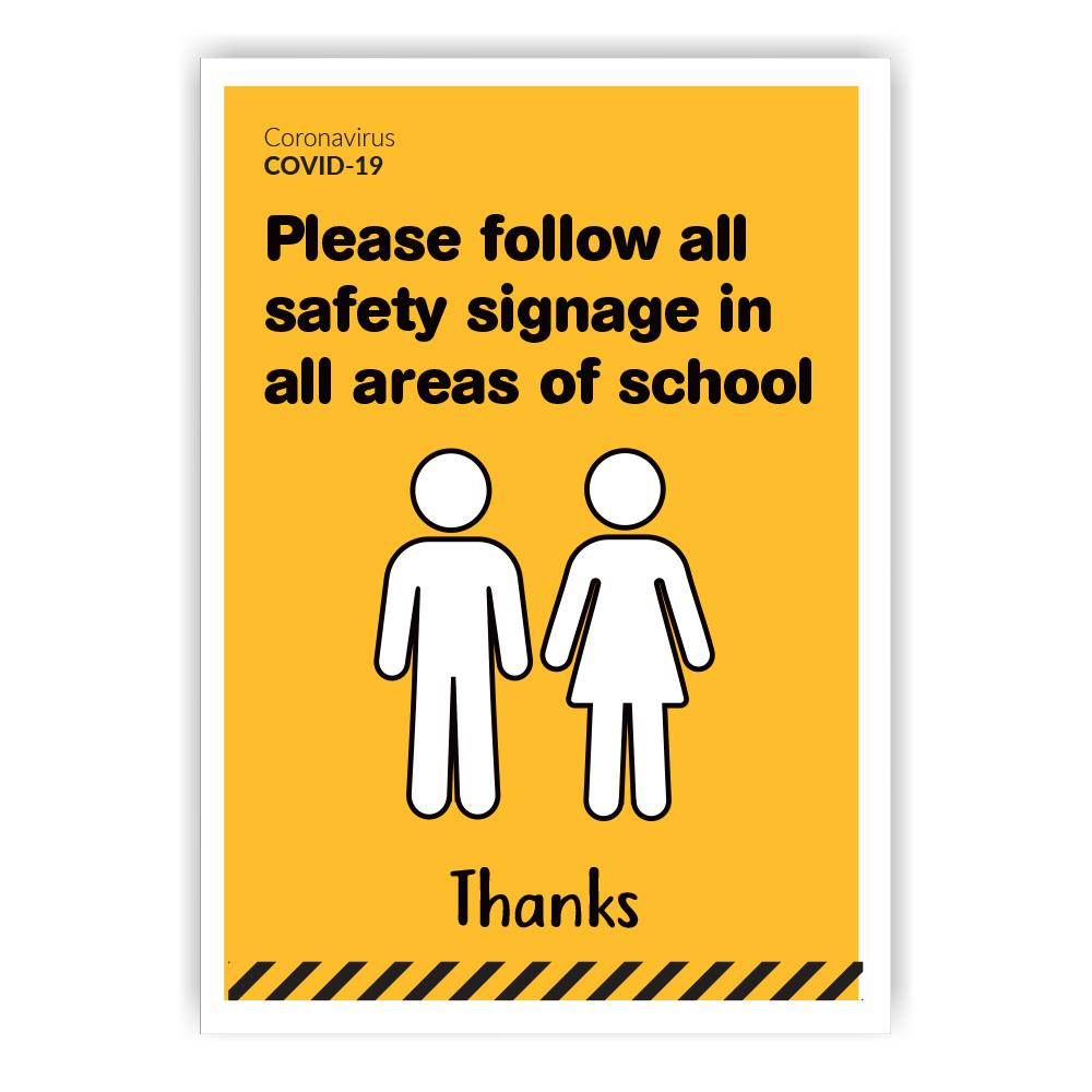 Secondary School Info Poster A