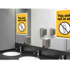 Secondary School Sink Poster