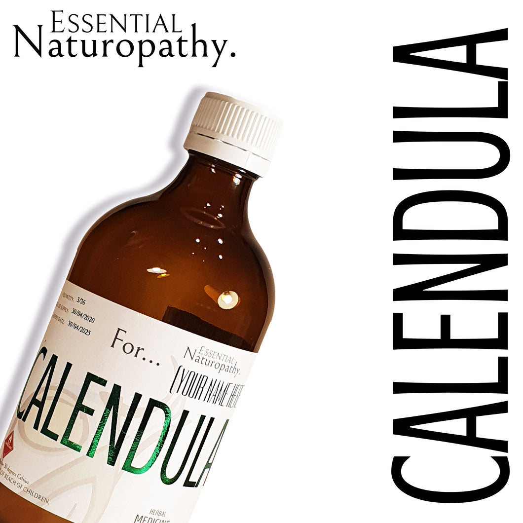 Organic Calendula Herbal Tincture