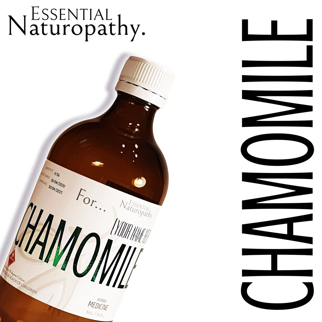Organic Chamomile Herbal Tincture