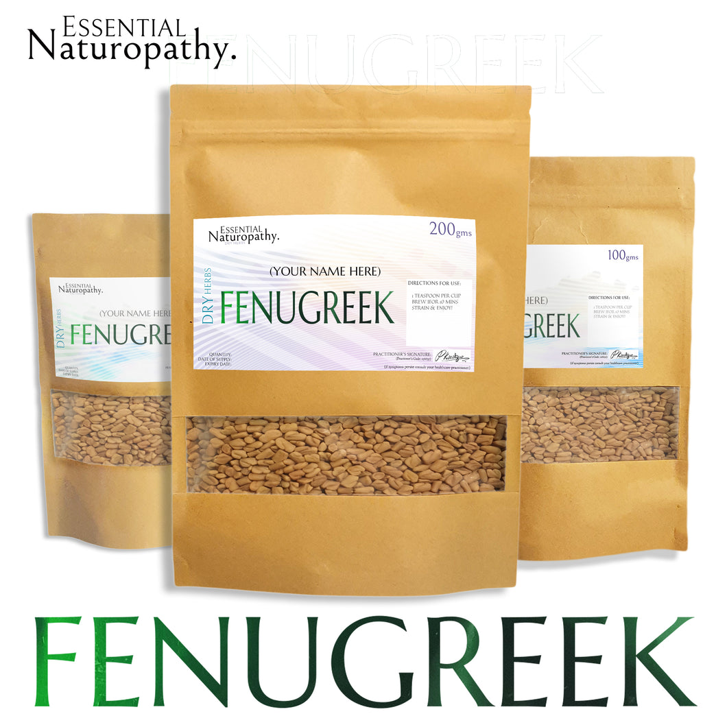 Fenugreek Seeds - Certified Organic