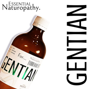 Organic Gentian Herbal Tincture