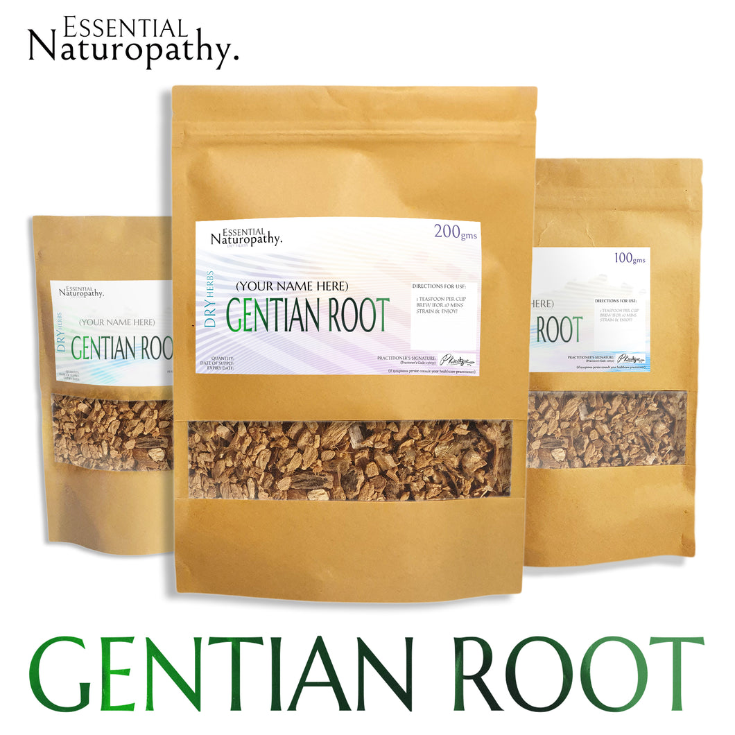 Gentian Root Tea - Organic