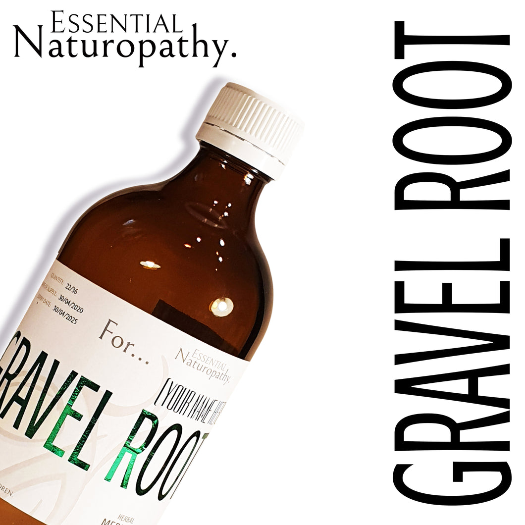 Organic Gravel Root Herbal Tincture