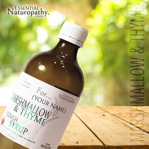Organic Marshmallow & Thyme Cough Syrup