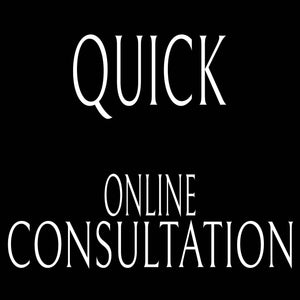 Online Quick Consultation Via Zoom