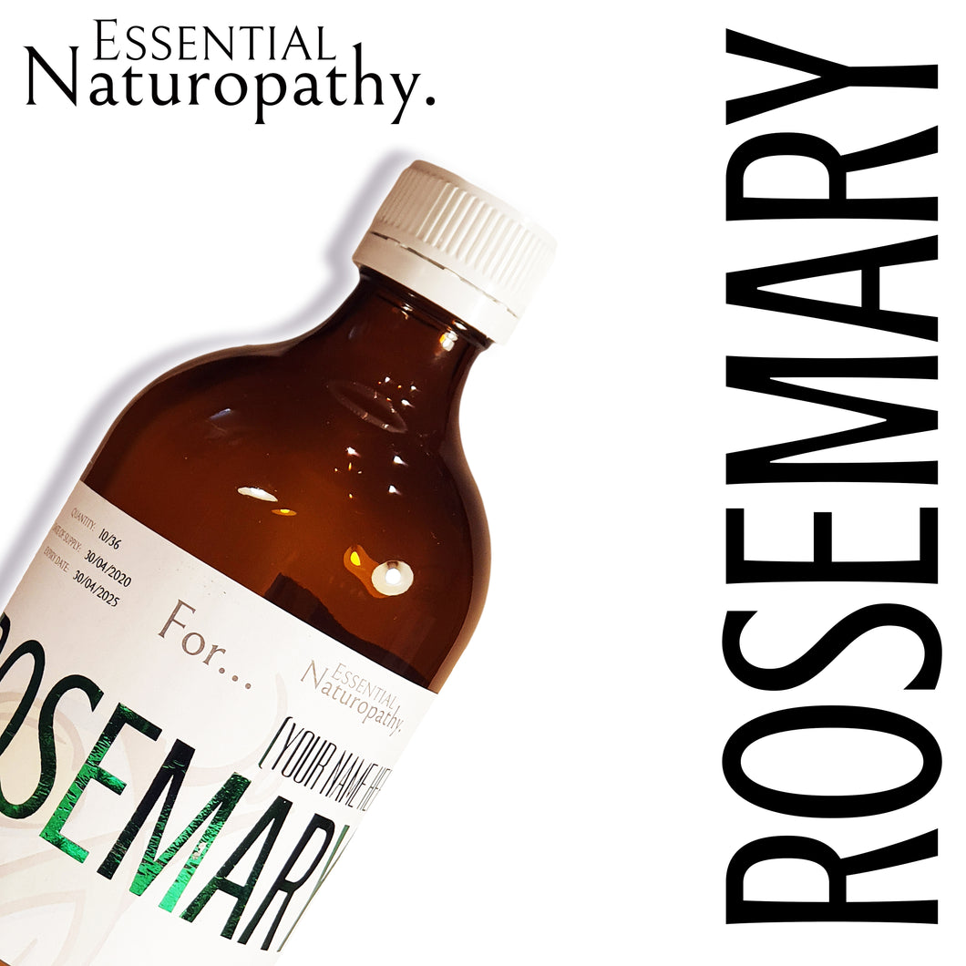 Organic Rosemary Herbal Tincture