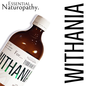 Organic Withania Herbal Tincture