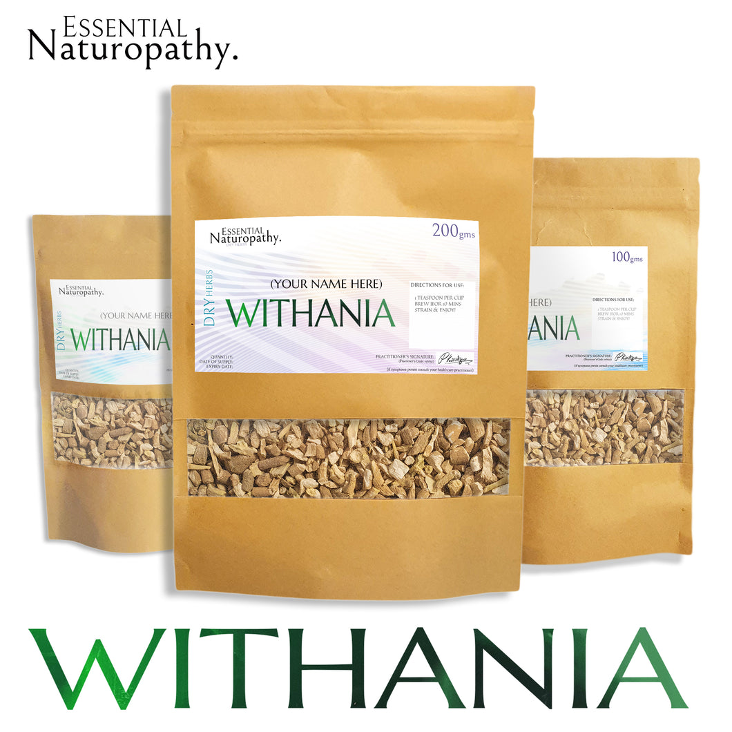 Withania / Ashwagandha Tea - Certified Organic
