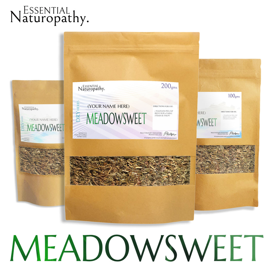 Meadowsweet Tea - Certified Organic