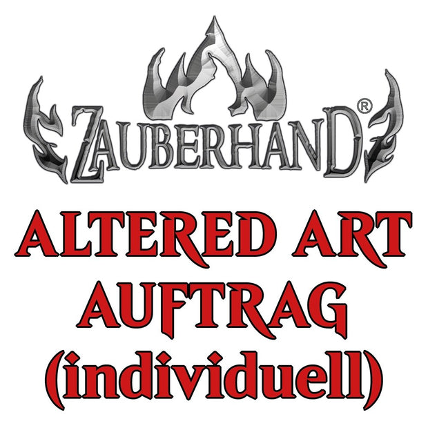 - Altered Art AUFTRAG (individuell) - Zauberhand