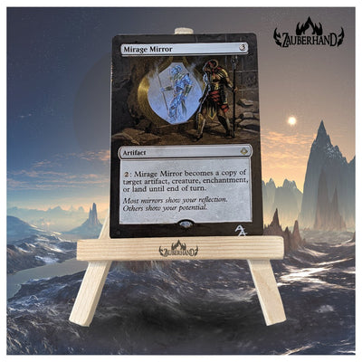 Altered Art - MTG - Mirrage Mirror - Zauberhand