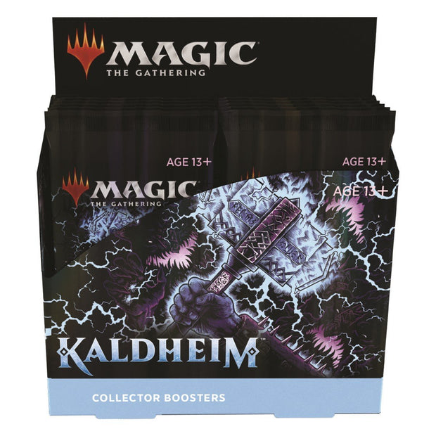 Kaldheim Collector Booster Display - Eng - Zauberhand