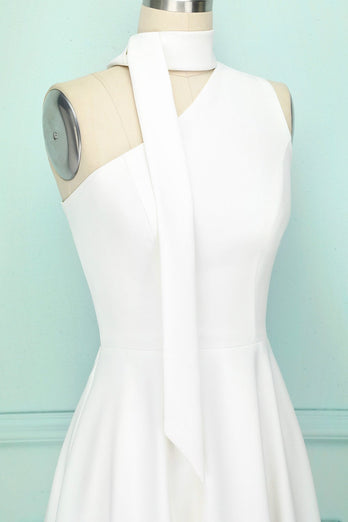 Robe blanche simple
