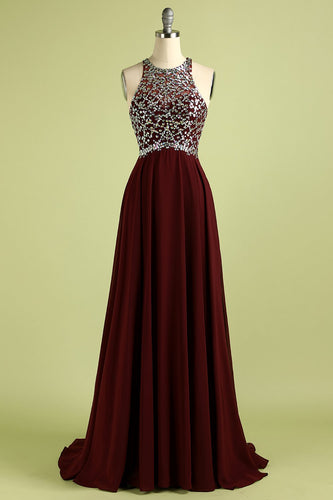 Robe à Paillettes Bordeaux