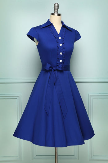 Robe Bleu Royal
