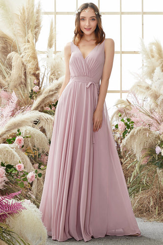Robe blush cache coeur