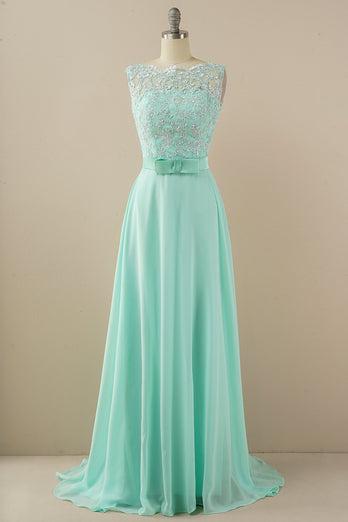 Abito applique long prom