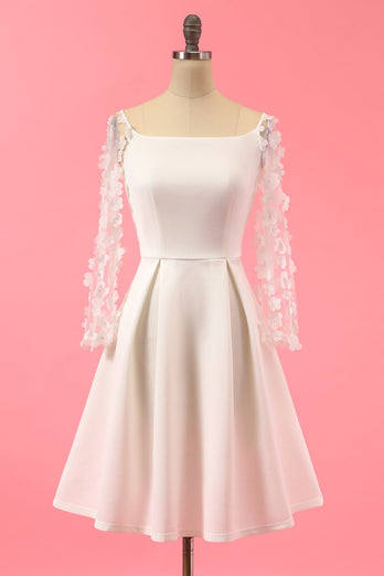 Party Dress White Lace