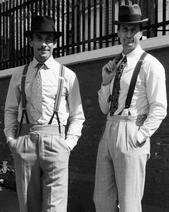 20s Suspenders Credits: www.vintage-retro.com/what-did-fashion-men-wear-in-the-1920s