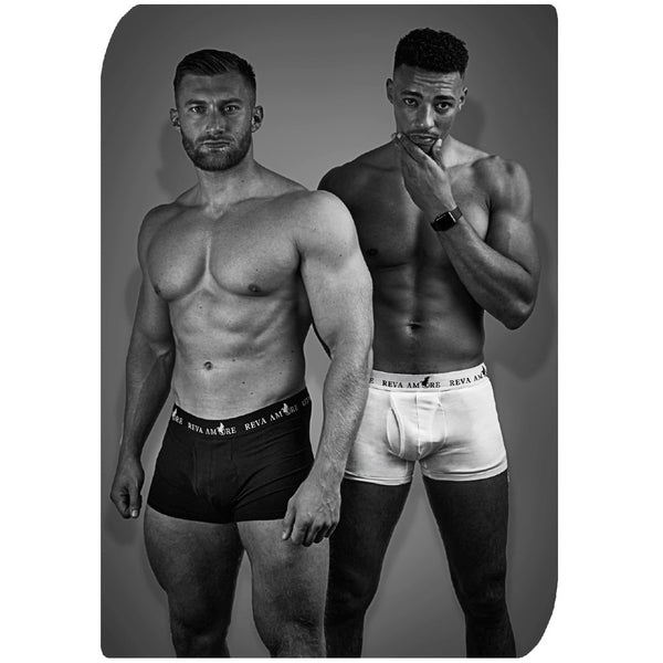 Men's Organic Cotton Trunks │ Dual Pack