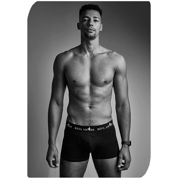 Black Organic Cotton Trunks │ Triple Package