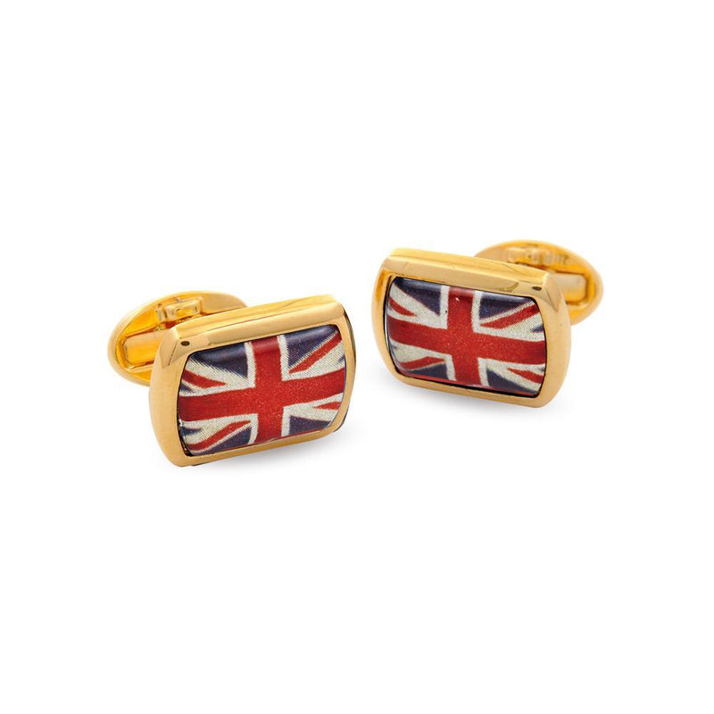 Union Jack Rectangular Gold