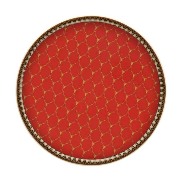 Antler Trellis Coaster Red