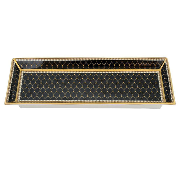 Antler Trellis Pen Tray Black