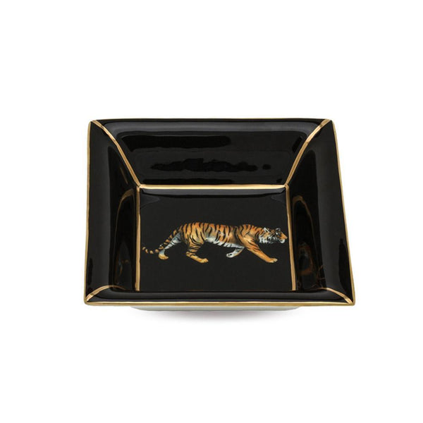 Tiger Square Trinket Tray