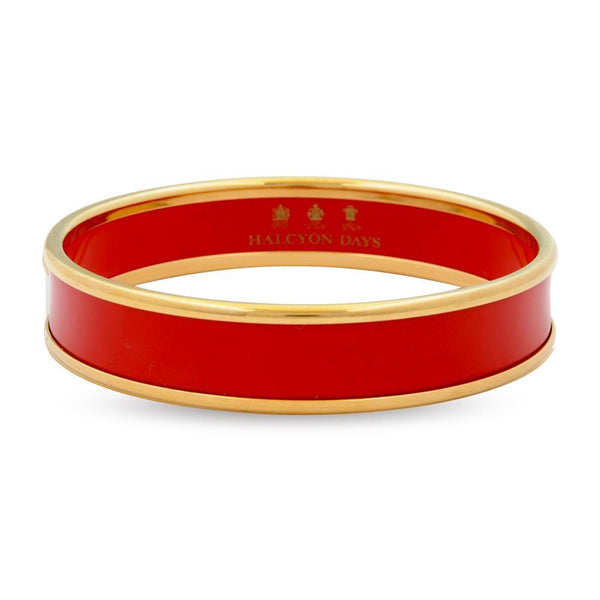Deep Red & Gold Bangle