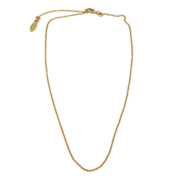 Single Chain Gold Necklace