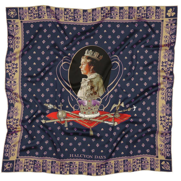 Longest Reigning Monarch Silk Scarf
