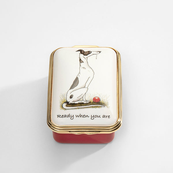 Ready when you are Enamel Box