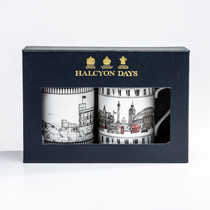 London Icons & Windsor Castle Mug Set