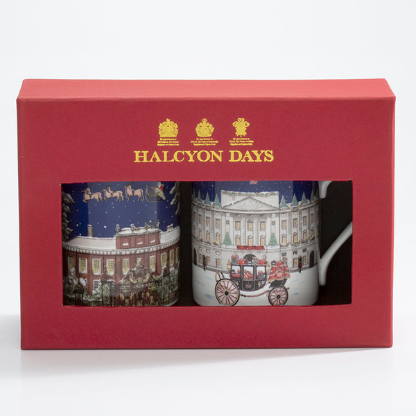 London Palaces Mug Set x2