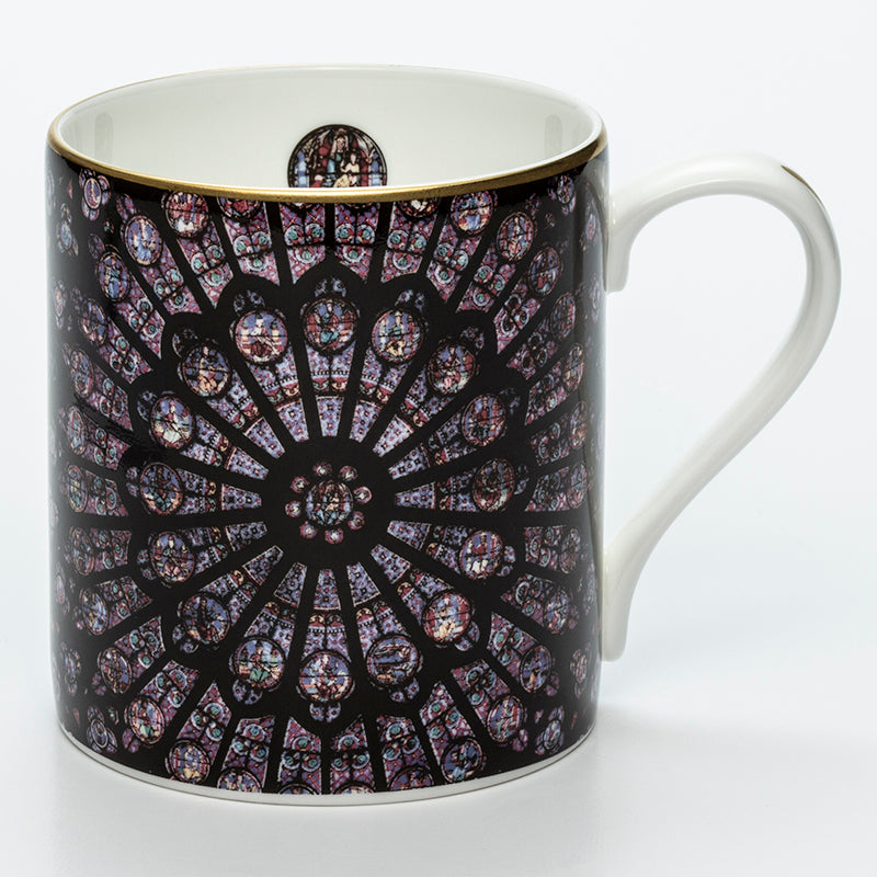 The Rose Window of Notre-Dame Mug