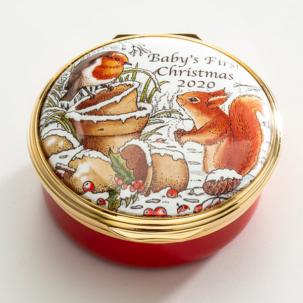 2020 Baby's First Christmas Enamel Box