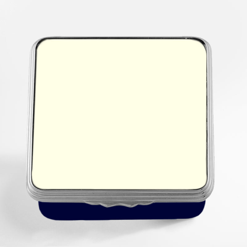 Blank Canvas Ivory & Navy Palladium Box