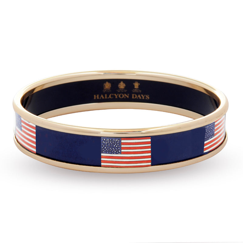 USA Flag Navy Bangle