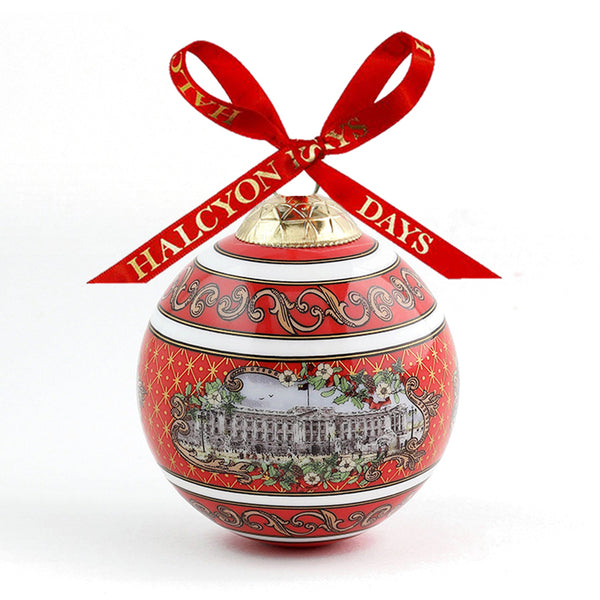 Buckingham Palace Red Bauble