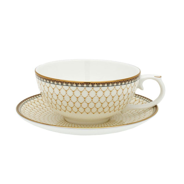 Antler Trellis Tea for One Ivory