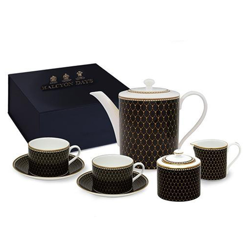 Antler Trellis Black Tea for Two Box Set